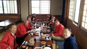 富津岬「たかはし」で昼食です。