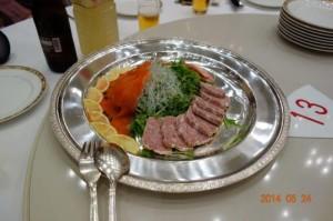 テーブルのお料理